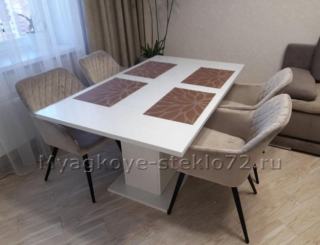 Рифленая скатерть на стол